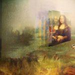 Auswirkung der Digitalisierung auf die Kunst. Mona Lisa virtuell erfahren.