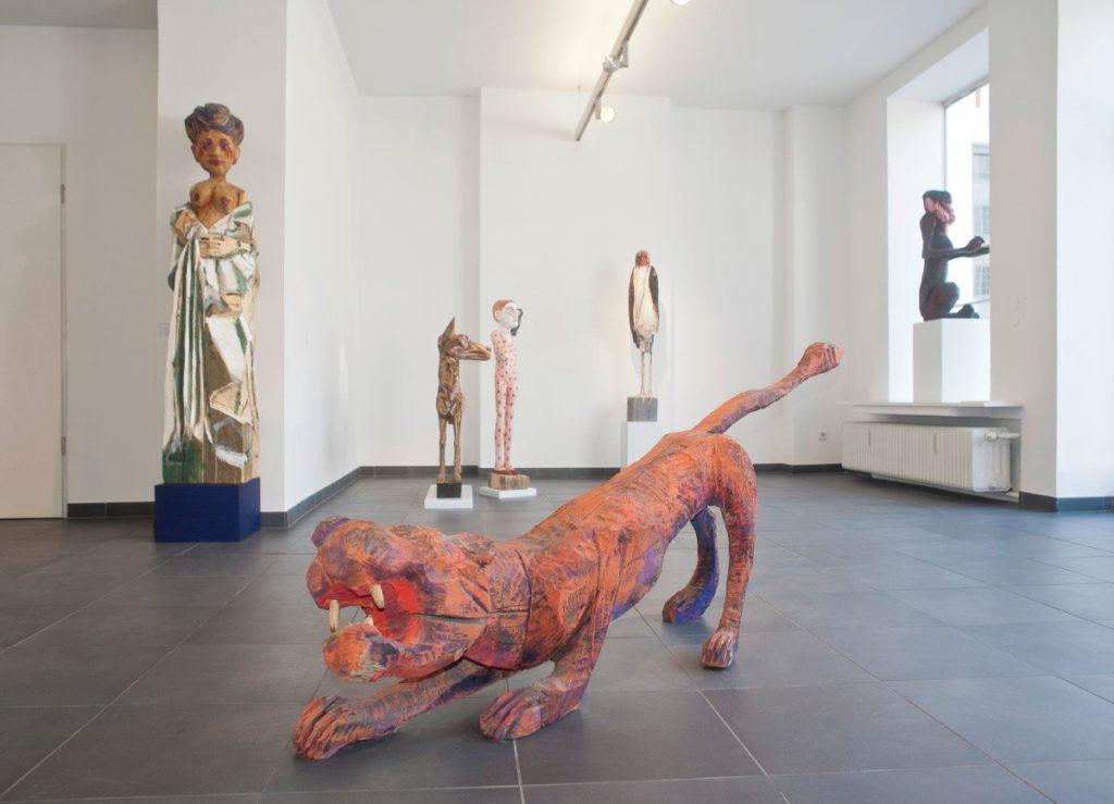 Galerie an der Pinakothek der Moderne in München