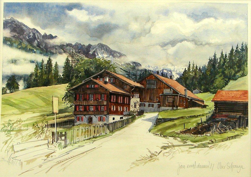 Alex's Art Galerie in Klosters