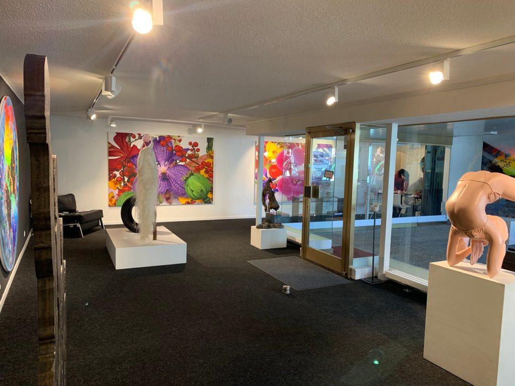 Art JED Gallery in St. Moritz