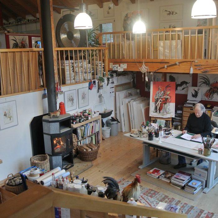 Atelier Charly Bühler in Wila