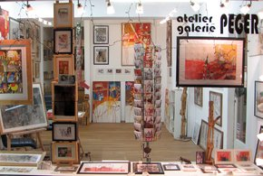 Atelier Galerie Peger in Salzburg