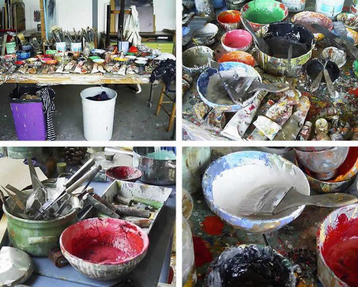 Atelier Leni Van Santen in Hoogmade