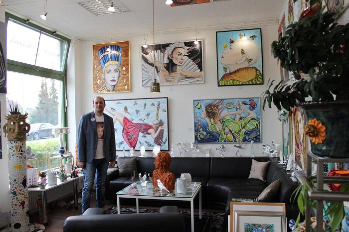 Atelier of fine arts Galerie in Baden