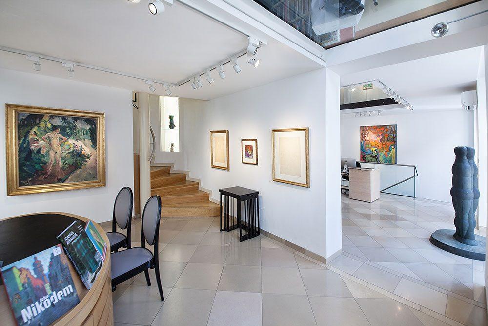 Galerie bei der Albertina Zetter in Wien