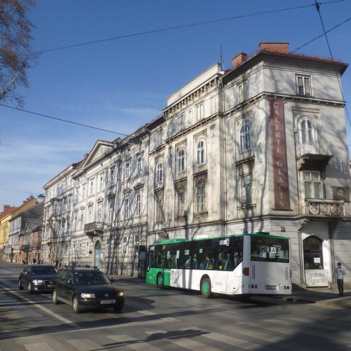 Galerie Glacis in Graz