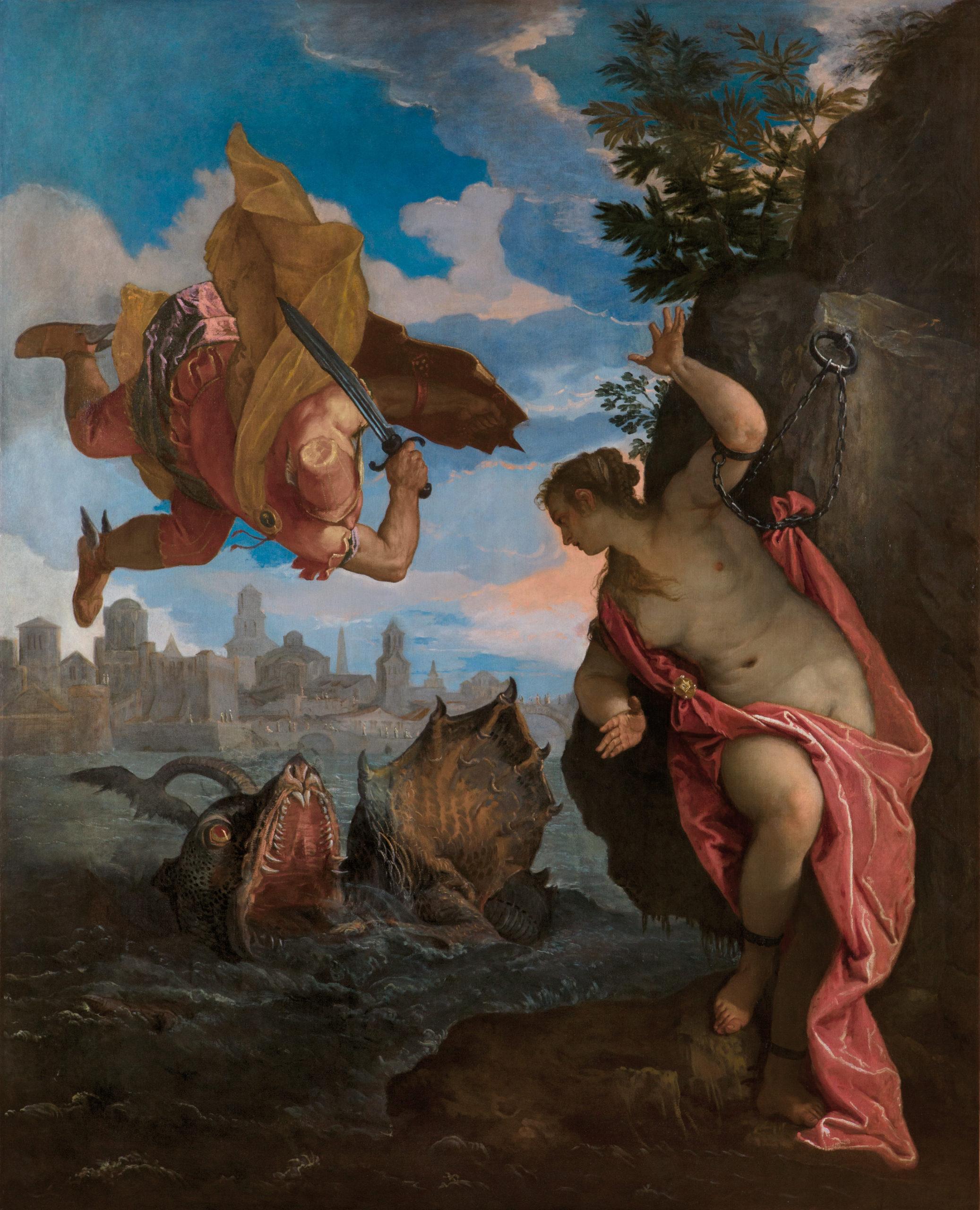 Perseus und Andromeda von Paolo Veronese. Mit freundlicher Genehmigung des Musée des Beaux Arts, Rennes