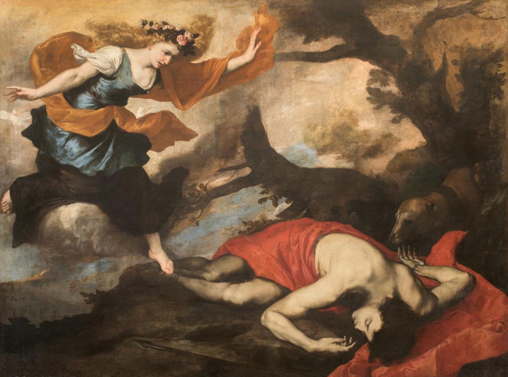 Venus und Adonis. José de Ribera.