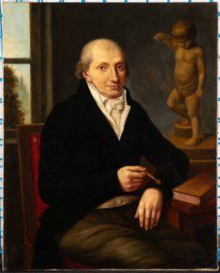 Ein Porträt des Zuckerbäckers und Kunstsammlers Johann Valentin Prehn