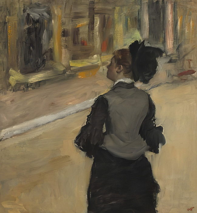 Edgar Degas Frau von hinten