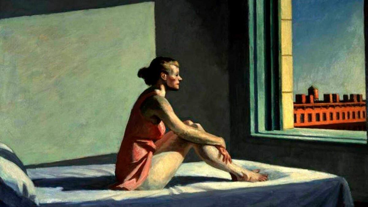 Edward Hopper. Morgensonne