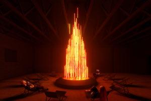 """Installation """"Bonfire"""""""